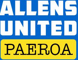 Allens United Paeroa Logo
